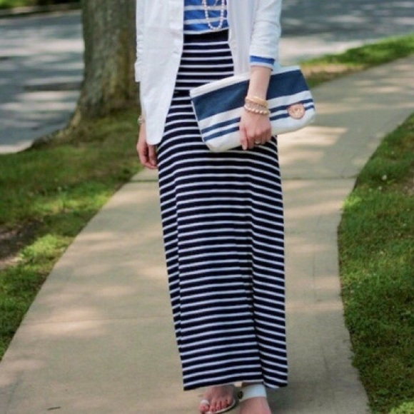 6d23ff30eeef The Limited Navy Striped Maxi Skirt. M_5a748323c9fcdfeac43954c7